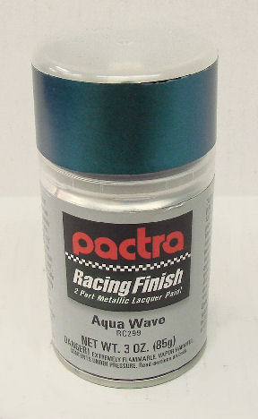 """Pactra Lexan Paint """"Aqua Wave"""" *Limited Supply*-"""