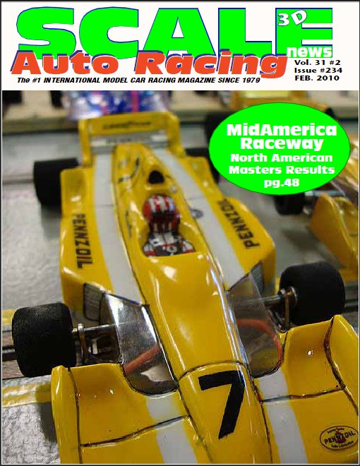 Scale Auto Racing Mag. - Feb. 2010 - Download