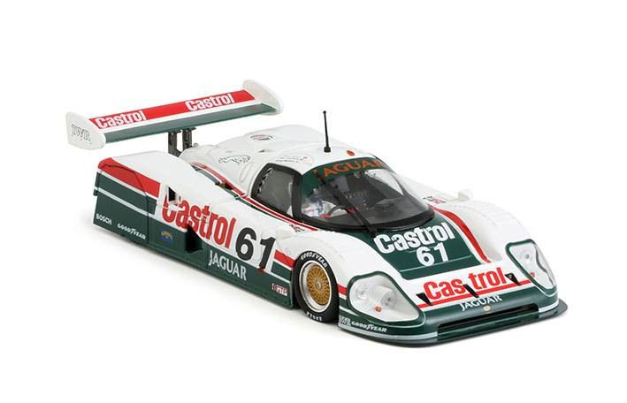 Slot.it Jaguar XJR12 61 Castrol 1990 Daytona 1/32 Slot Car