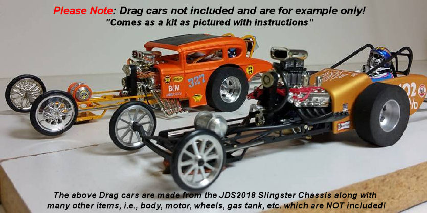 JDS Slingster 1/24 Drag Chassis Kit