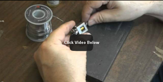 Soldering on a Spin Proof Pinion