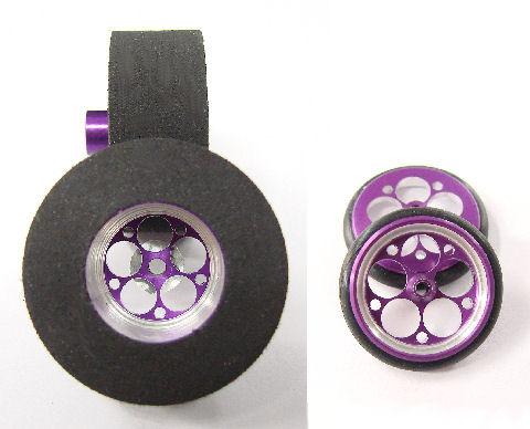 """Speed Secrets """"Predator II"""" Purple .500 wd. Matching Front & Rear"""