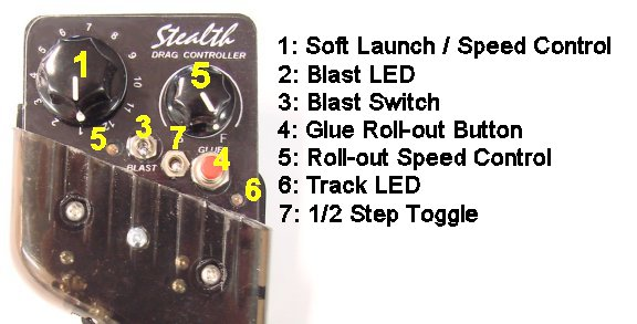 Stealth � Step Drag Controller-
