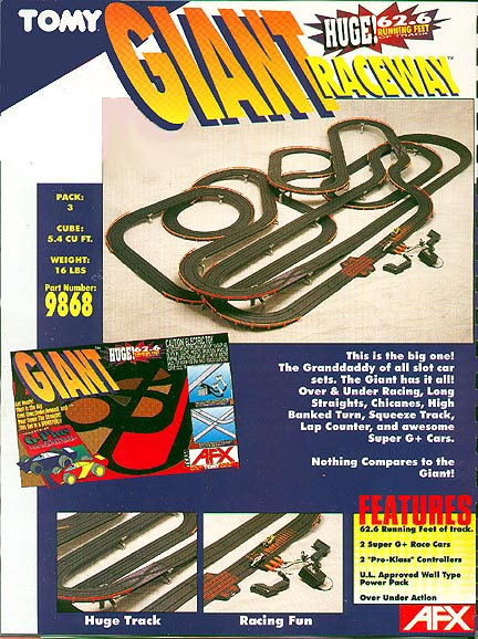 AFX Giant Raceway
