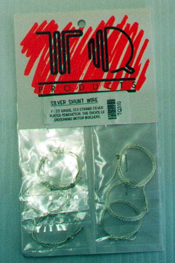 TQ Silver Plated <br>Shunt Wire