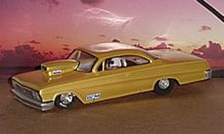 "Toytech ""63 Impala Clear Drag Body"