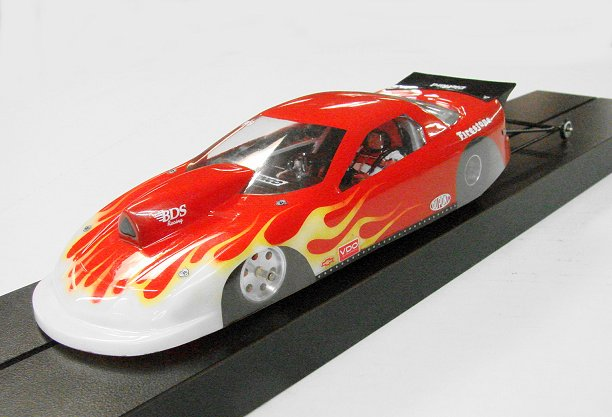 Super Custom Top Sprtsman Drag Slot Car-