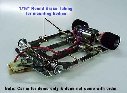 "K&S 1/16"" od x 12"" long Round Brass Tubing"