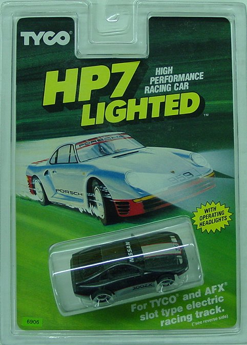 Tyco HP7 Nissan 300-ZX -lighted Collectors-
