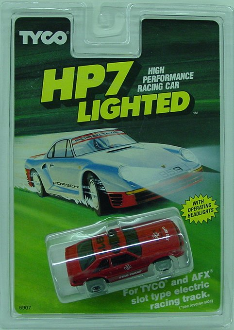 "Tyco HP7 Fire Chief 911- lighted ""Collectors""-"