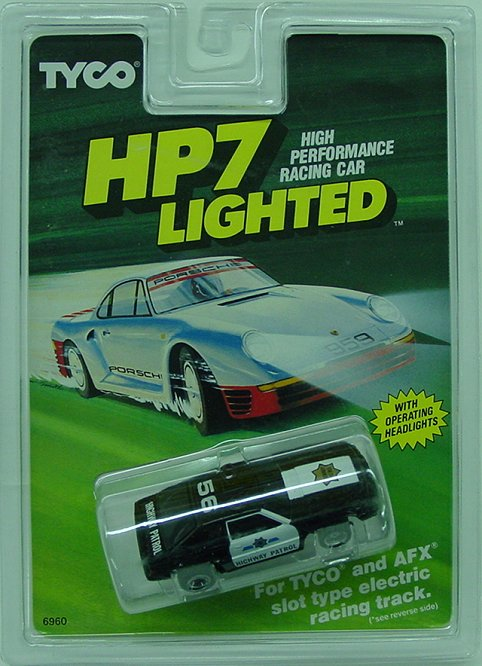 Tyco HP7 Mustang Hwy Patrol 56- lighted Collectors-