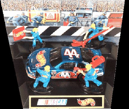 Tyco Hot Wheels Grand Prix 44 with Pit Crew-