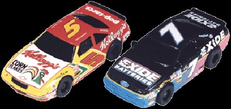 Tyco 5 Tide / 28 Havoline NASCAR Twin Pack <i>&quot;Collectors&quot;</i>-