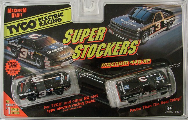 #Tyco9137 Tyco 1996 #3 Goodwrench 440-X2 Twin Pack Very Rare!