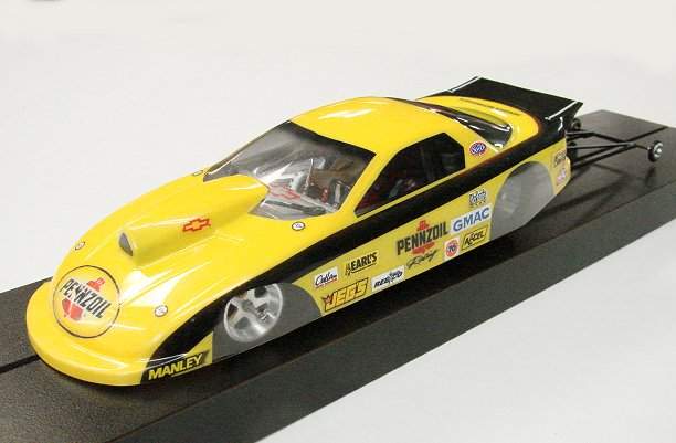 Super Custom Pro Mod Drag Slot Car <br><i>Motor Choice!</i>