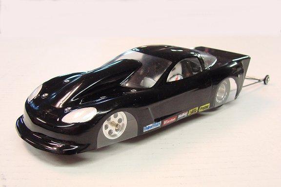 WRP C6 Corvette Top Sportsman Clear Drag Body-